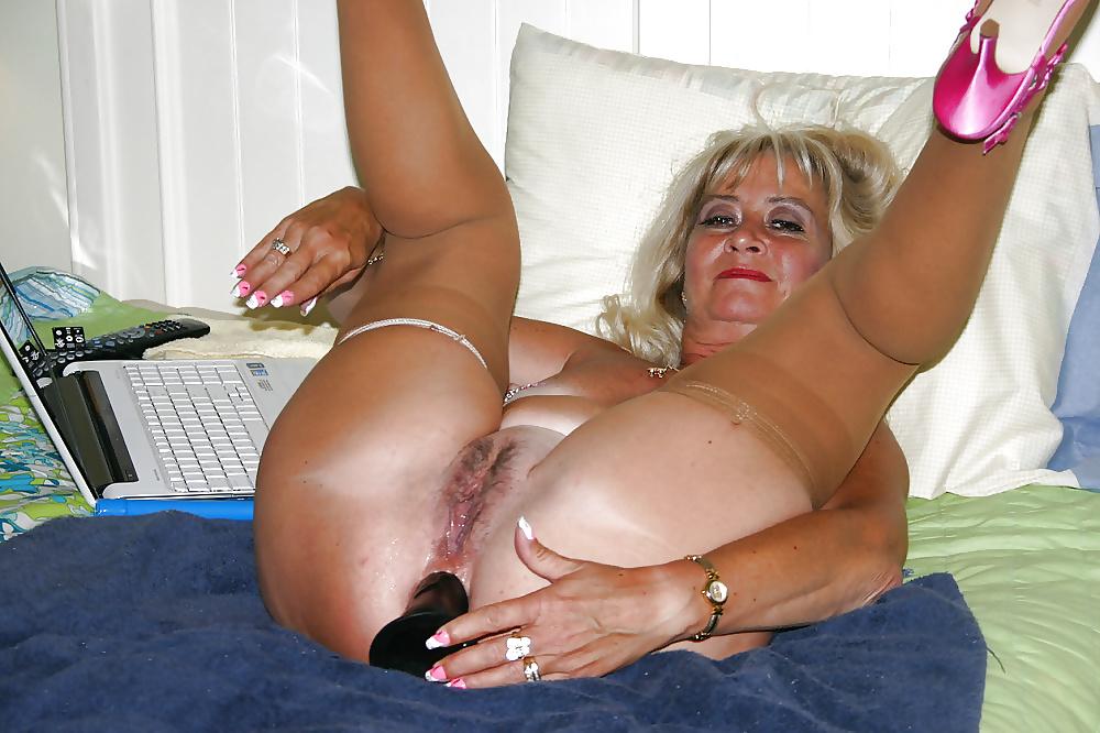 Black granny milf