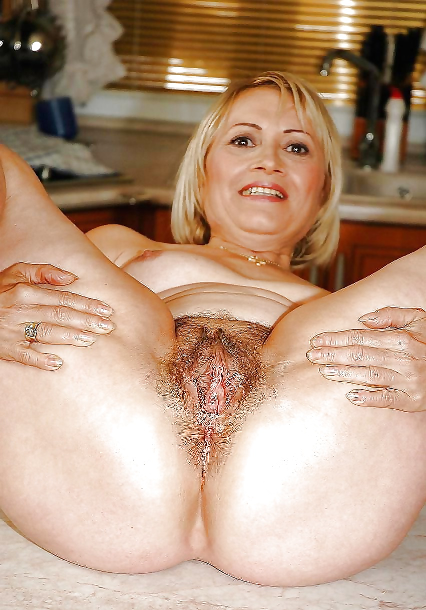 Cunt hairy mature pic