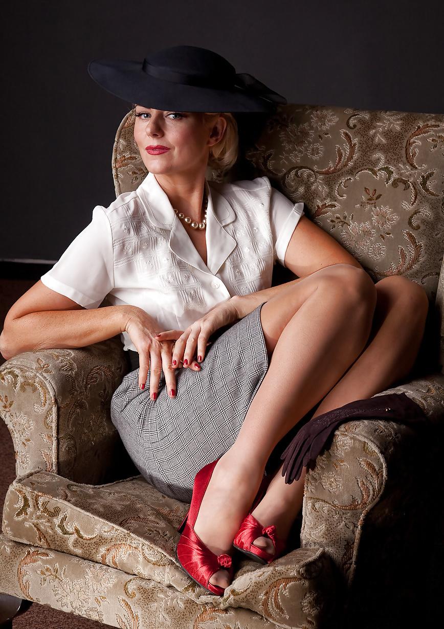 фотографии гламурных зрелых женщин уверены