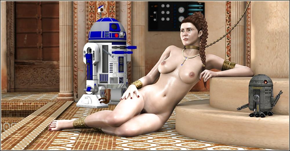 Star wars nude leia