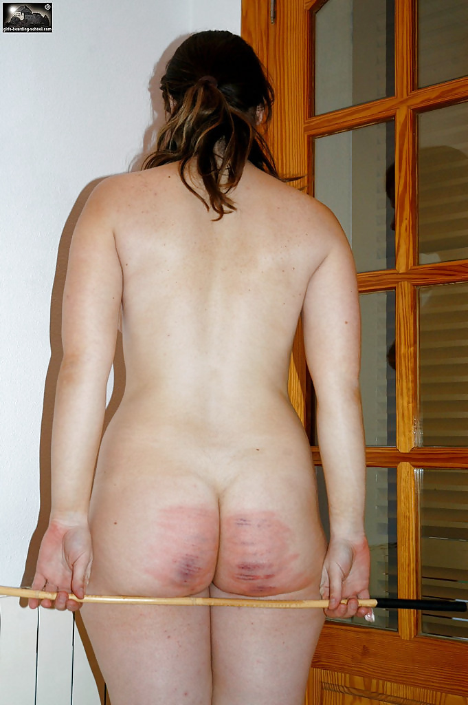 Hot nude women spanked