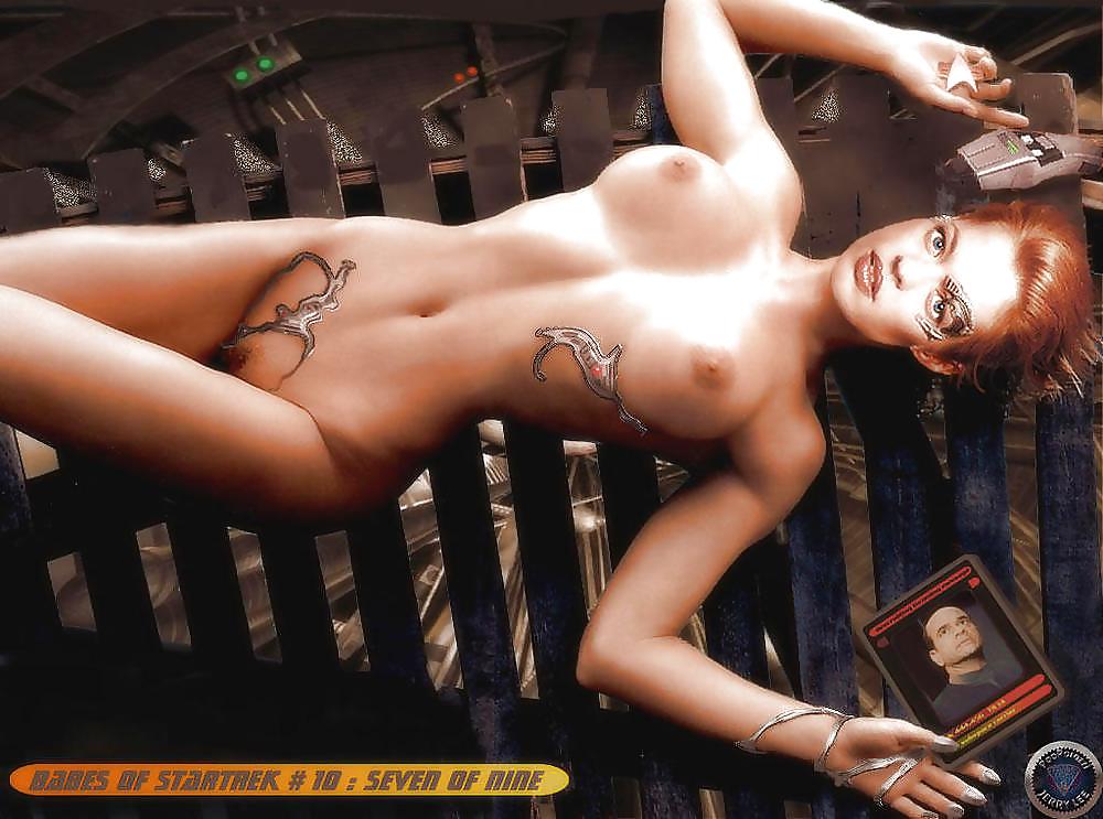 Star trek cast nude
