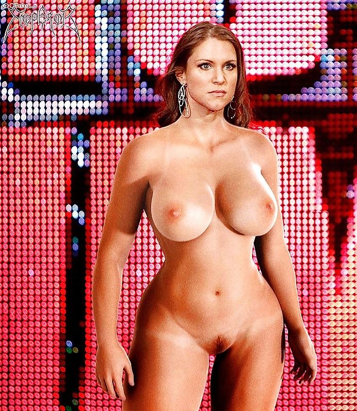 Stephanie mcmahon naked masturbation with huge dildo deepfake porn