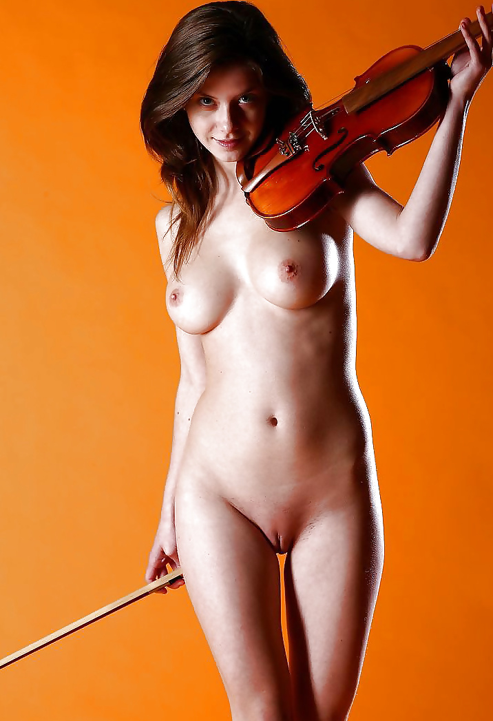 Home naked musician video