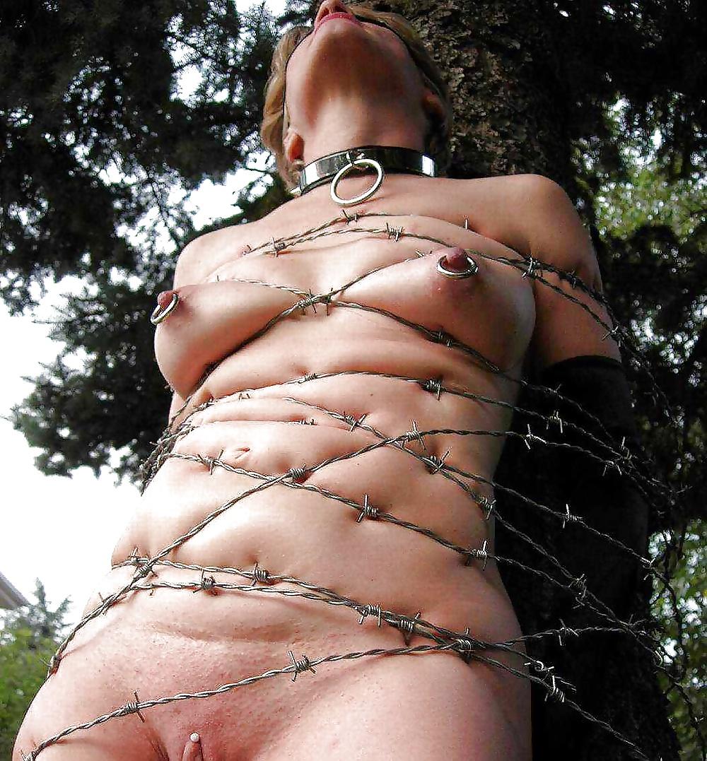 Tit bondage tube