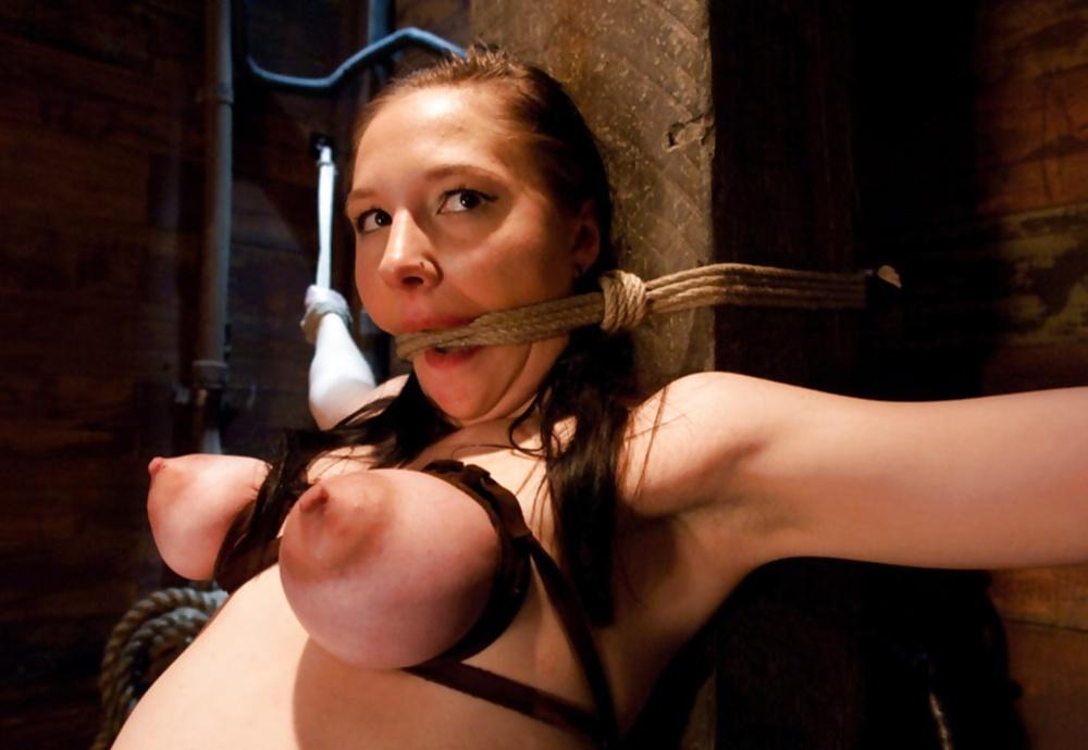How my man makes me have nipple orgasms during breast bondage