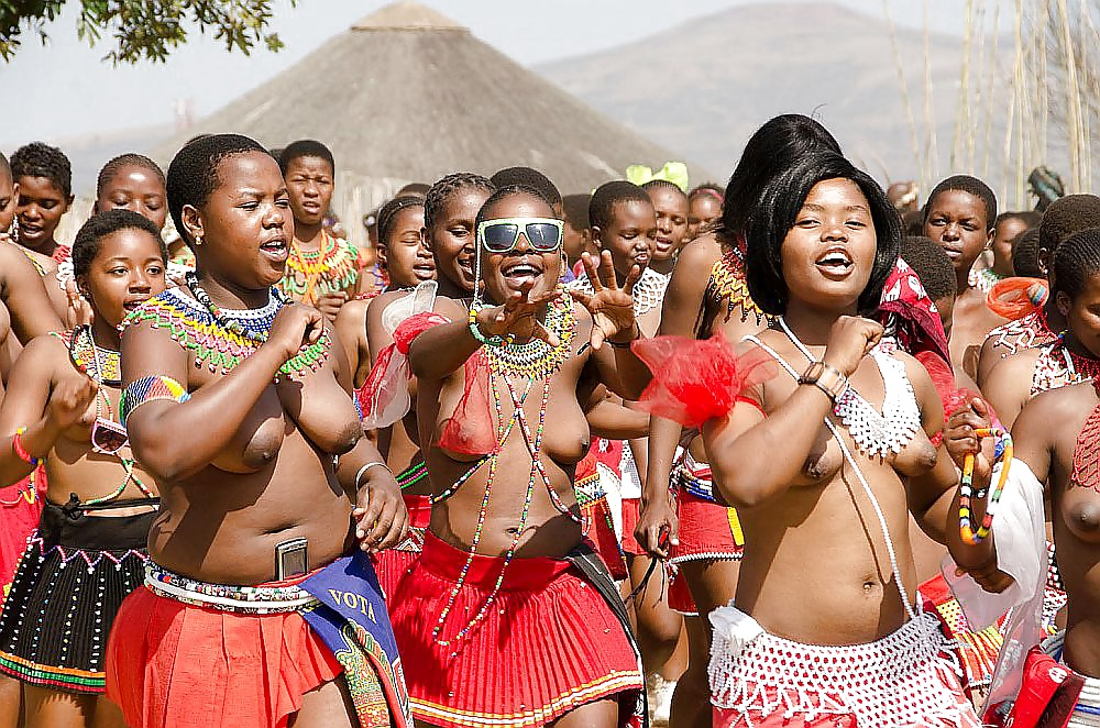 Zulu reed dance pictures