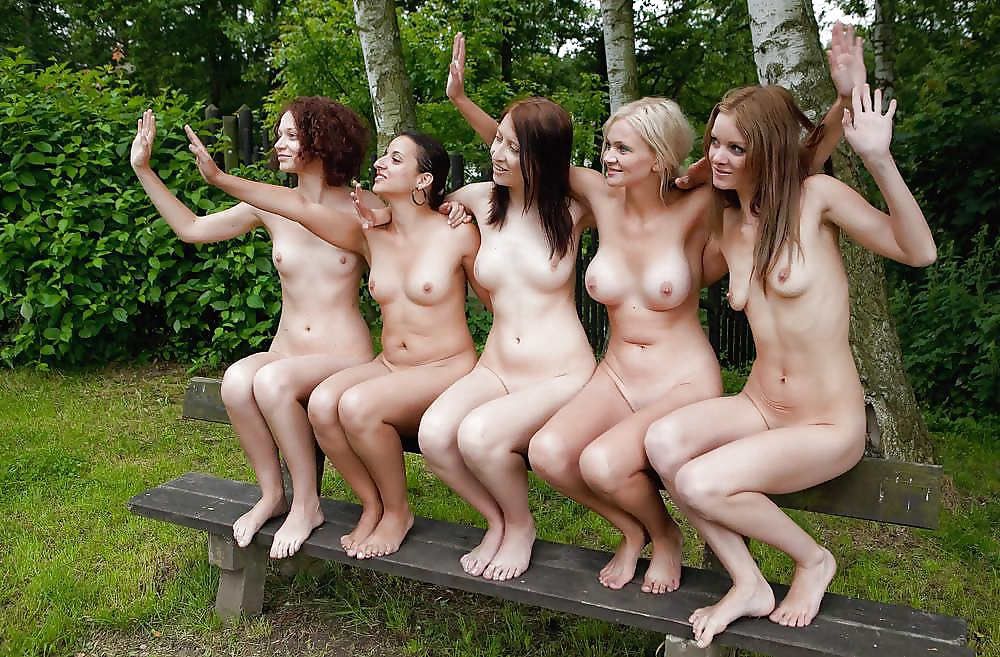 Nude girls in age