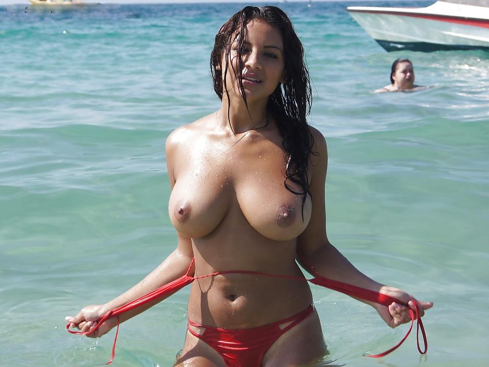 Biggest fanny beach big bikini tit