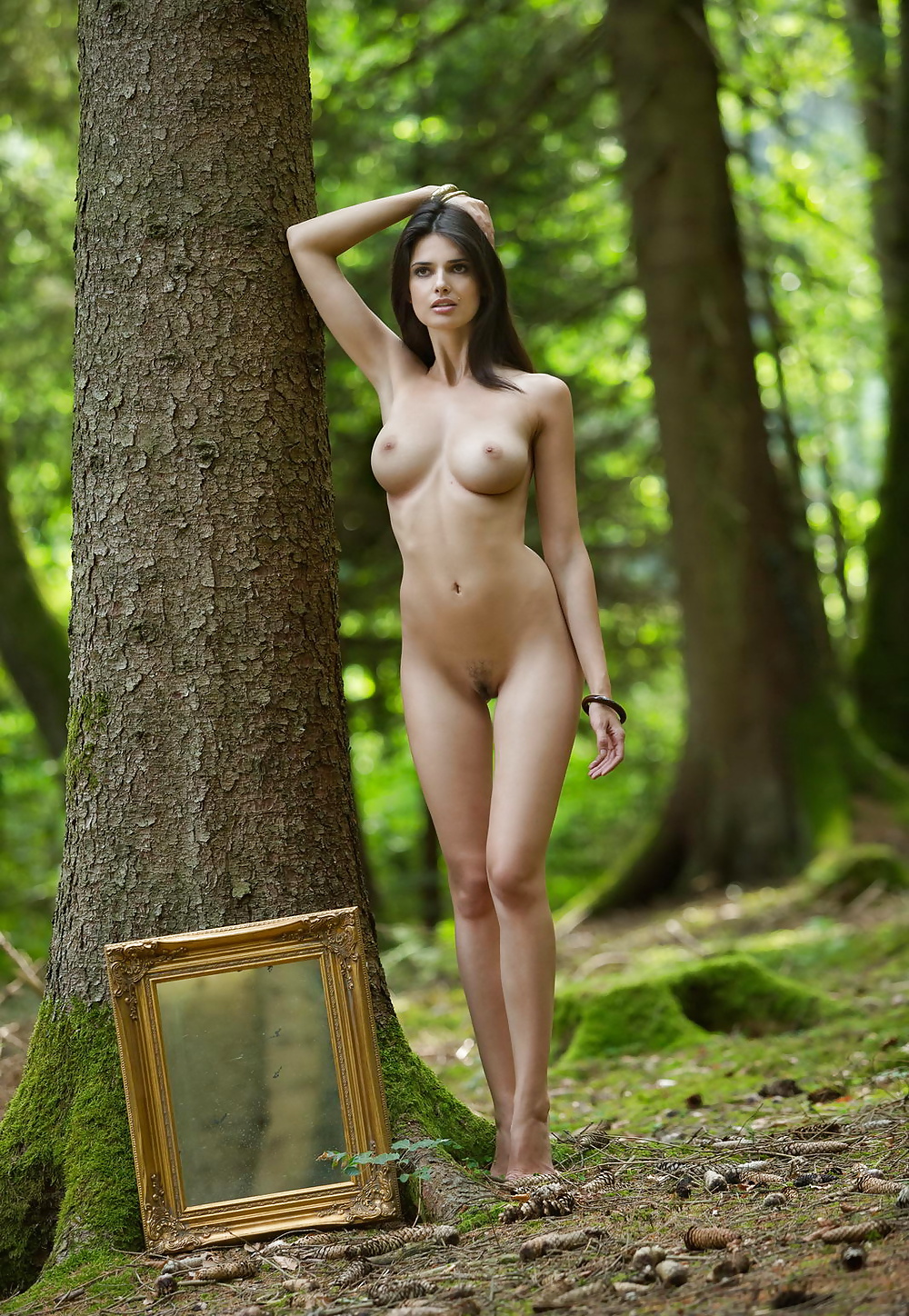 Naked In The Woods Pics