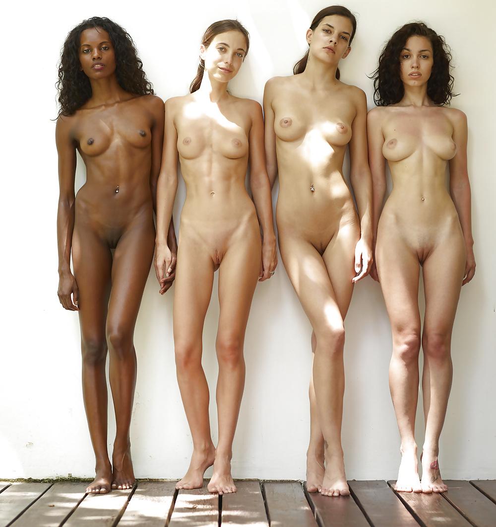 Chubby Light Skinned Girl Nude