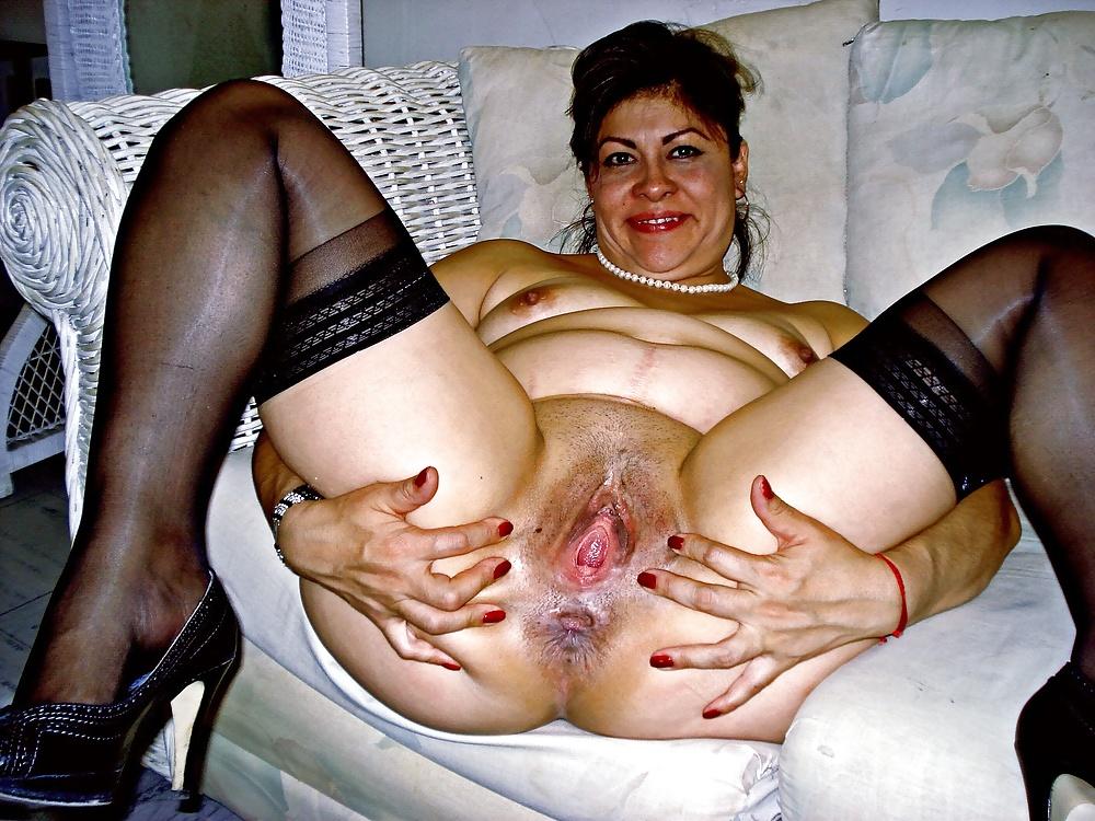 Hairy mature latina pussy depth