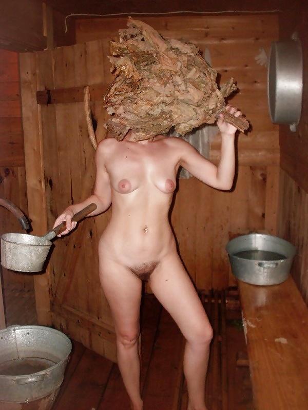 раз голые жены в бане известных лиц обхватили талию