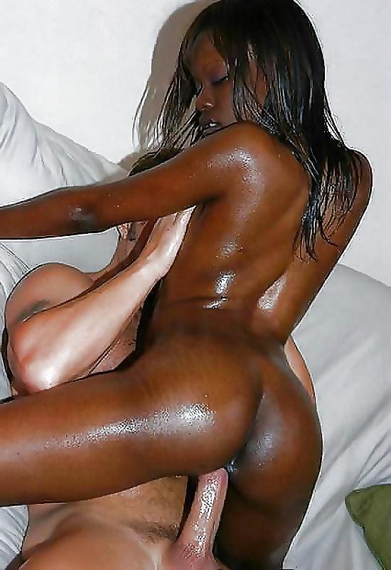 Black white penis size