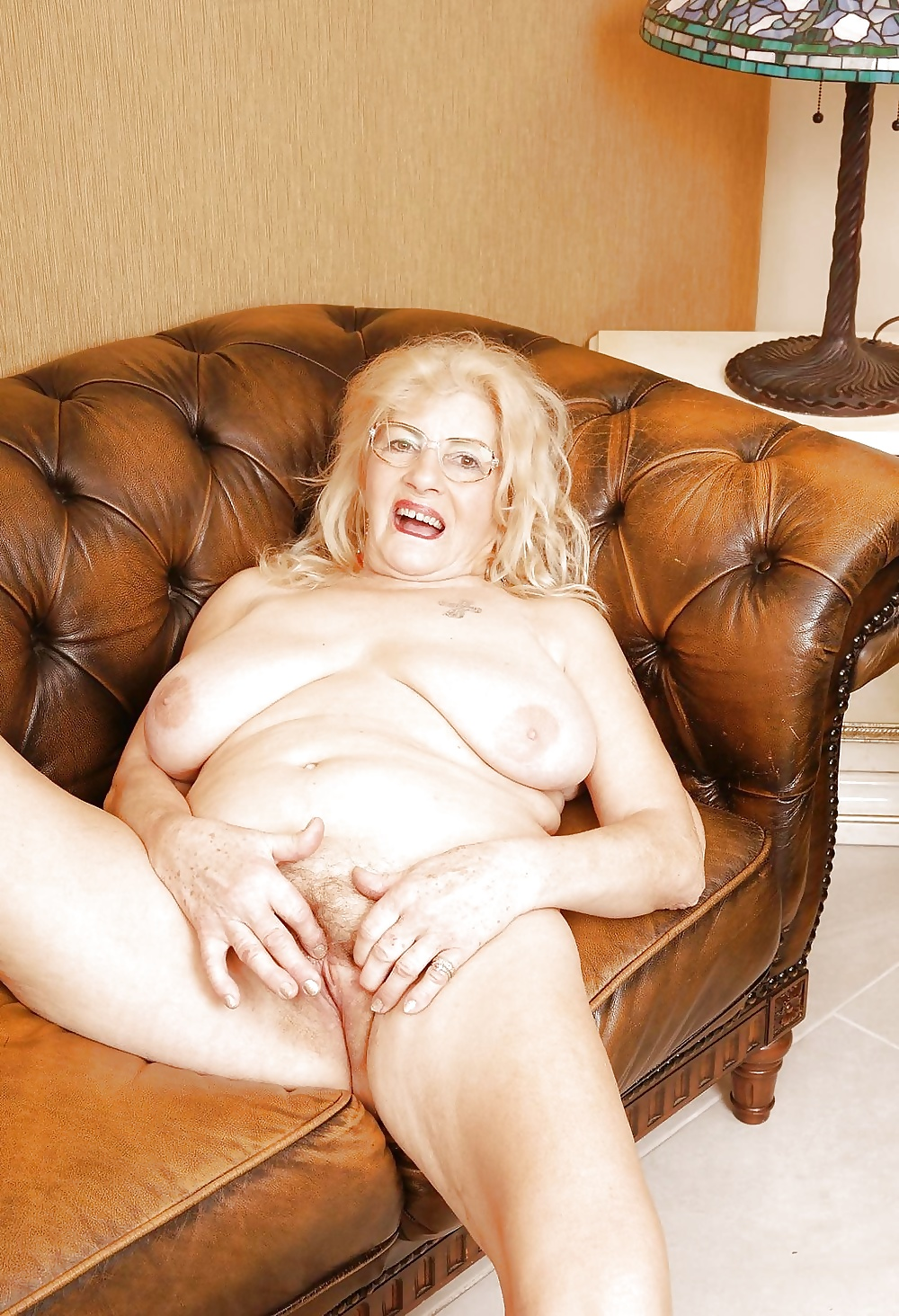 Grandmother giving pussy anal examinatio
