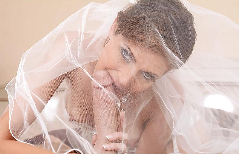 Невеста в загсе сделала минет — pic 15