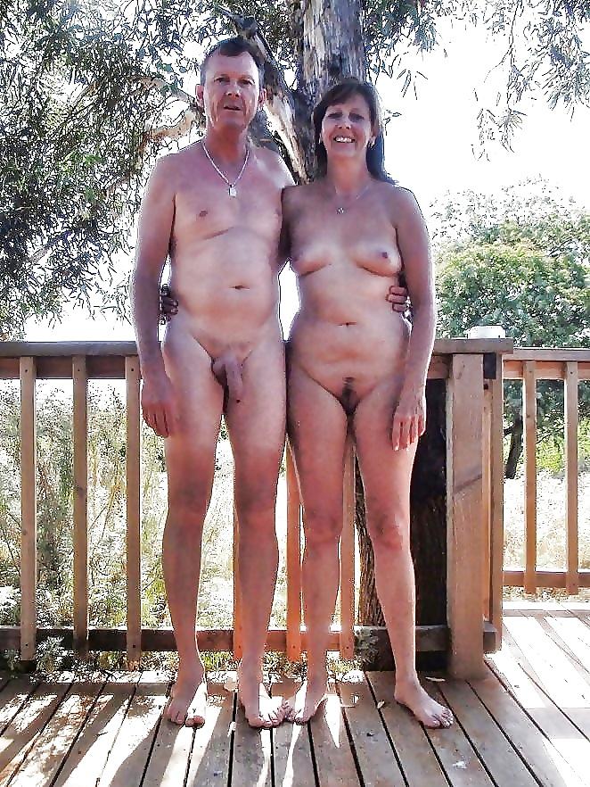 Nude blonde mature models