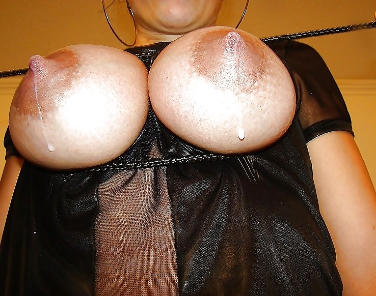 Asian Chick With Big Milking Tits Wets Her Man With Warm Milk