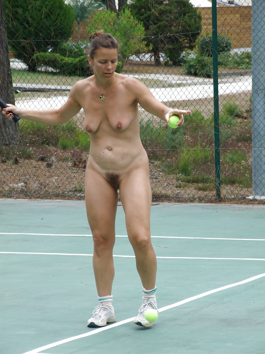 Athletic Jogger Public Nudity