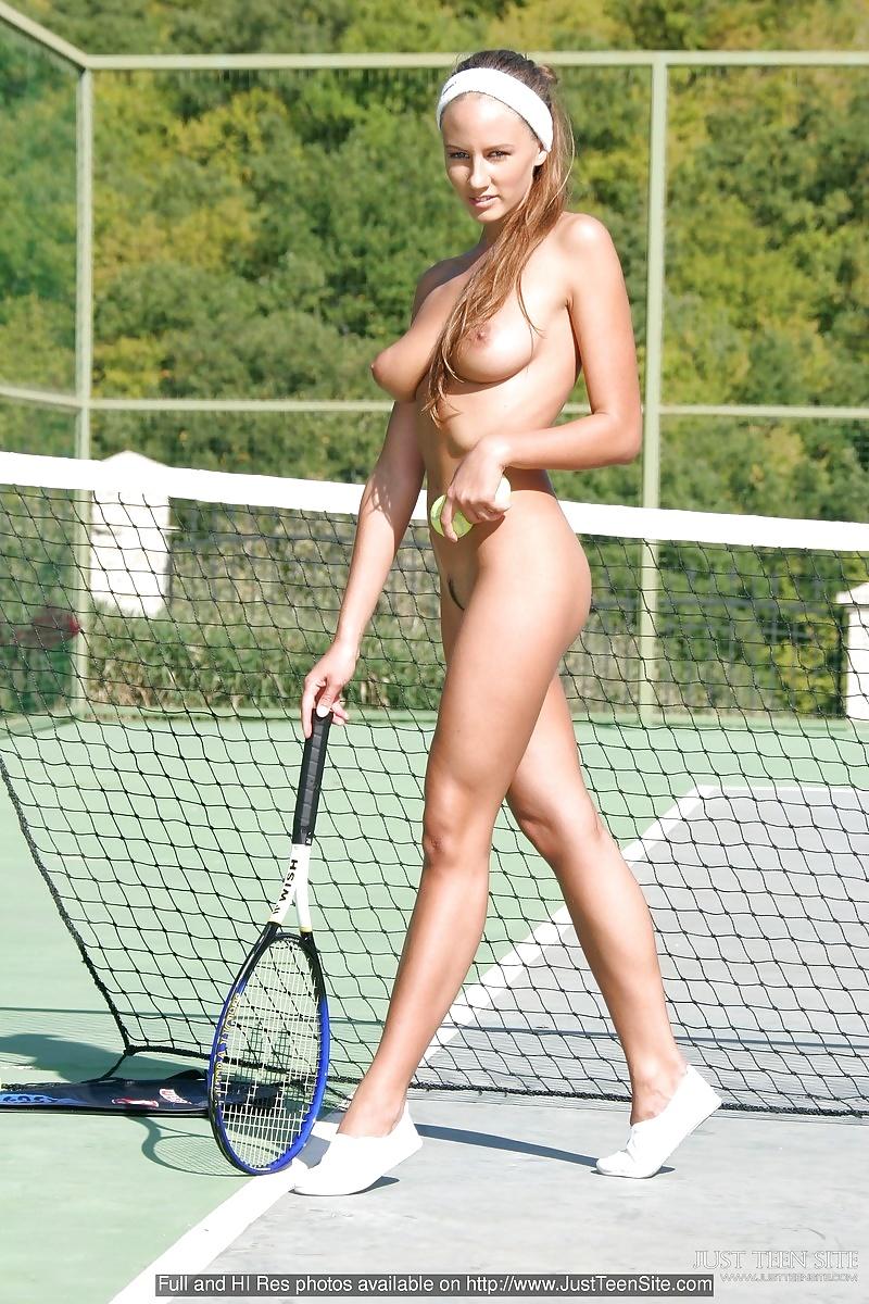 Female tennis stars naked