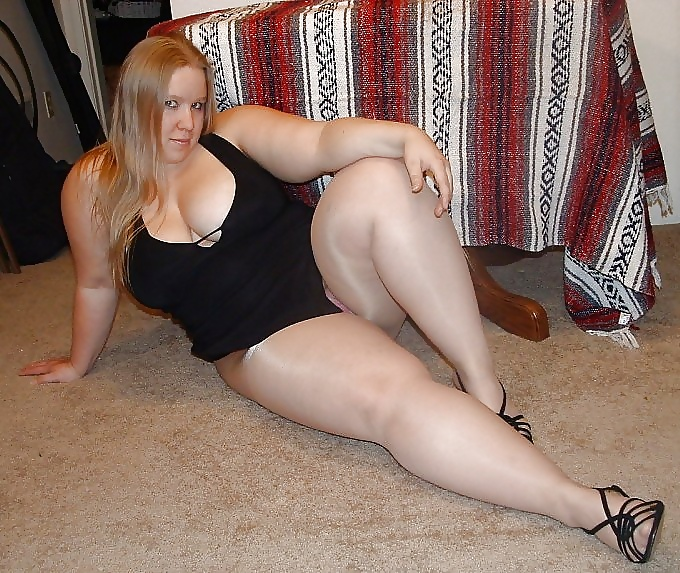 Plump women in pantyhose sex