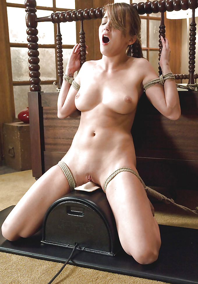 Sybian orgasm with amateur girl michelle