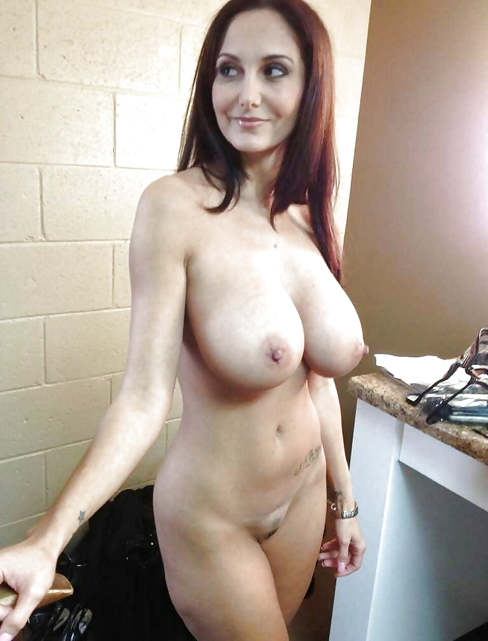 Natural brunette milf
