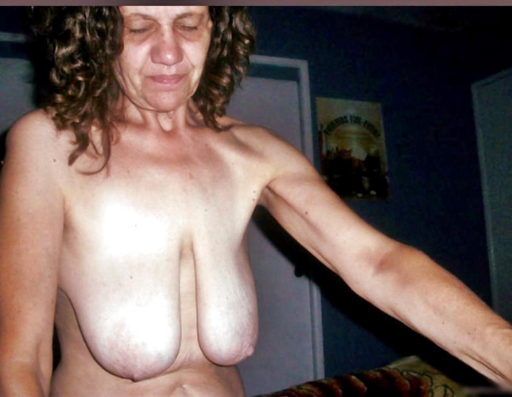 Big Saggy Mature Nipples