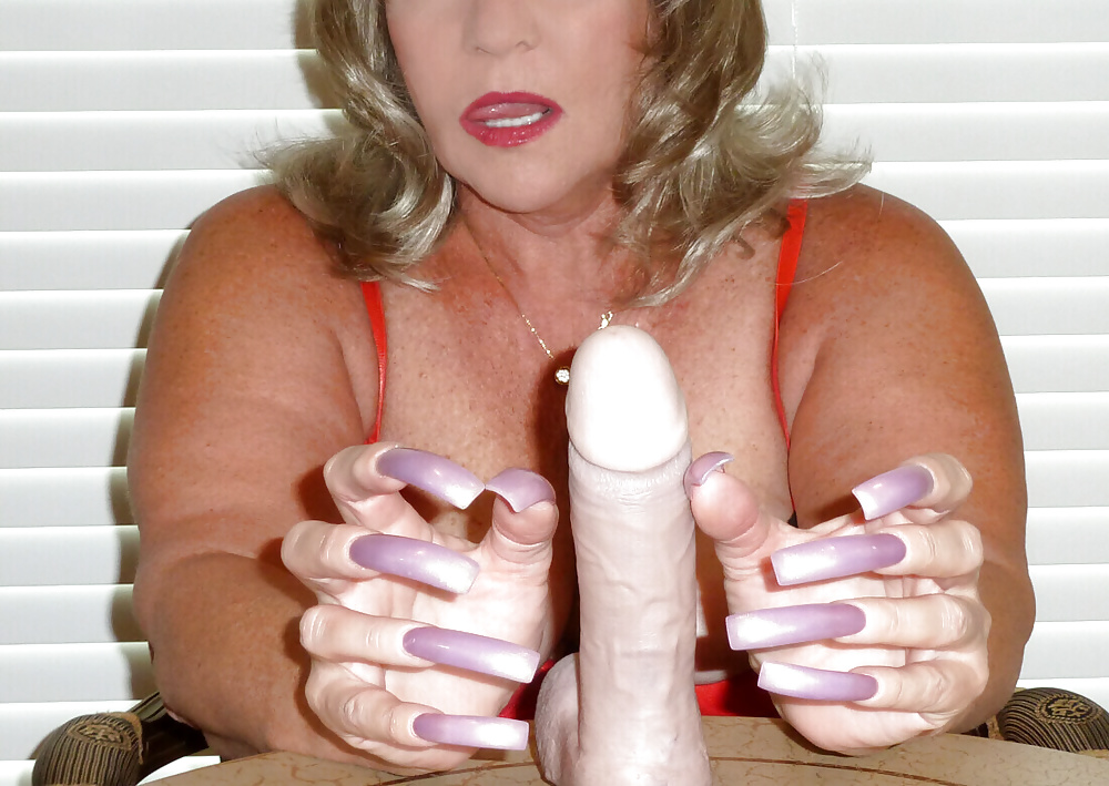 Long nails pornstars volume