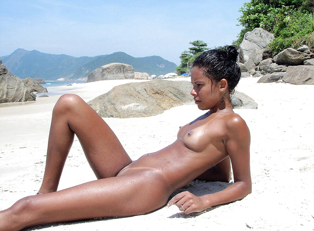 Naked black women nude beach