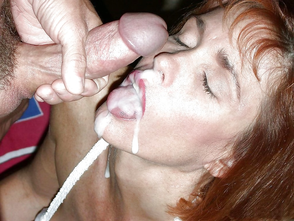 Cum in my mouth wife