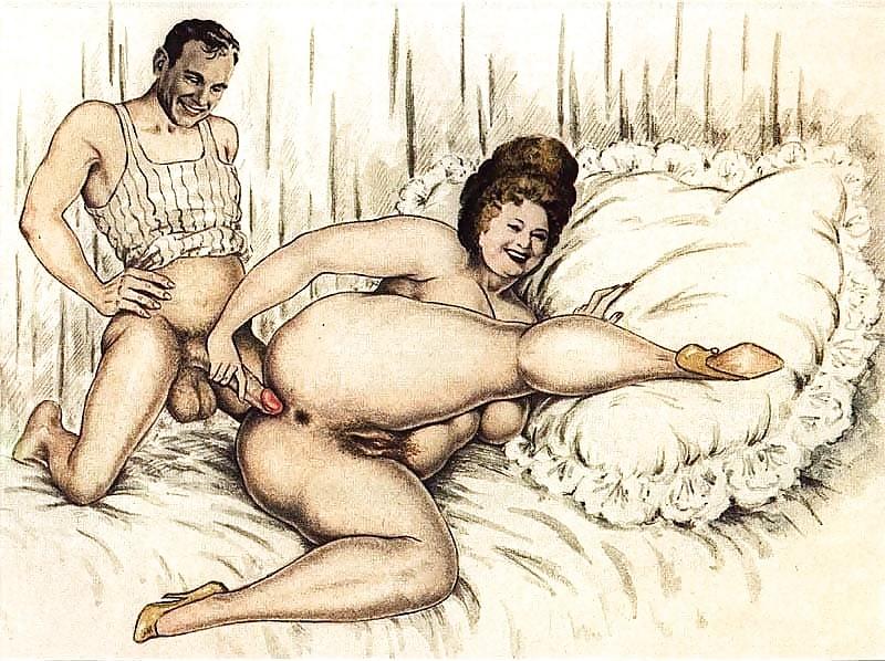 BBW Erotic Art Drawings