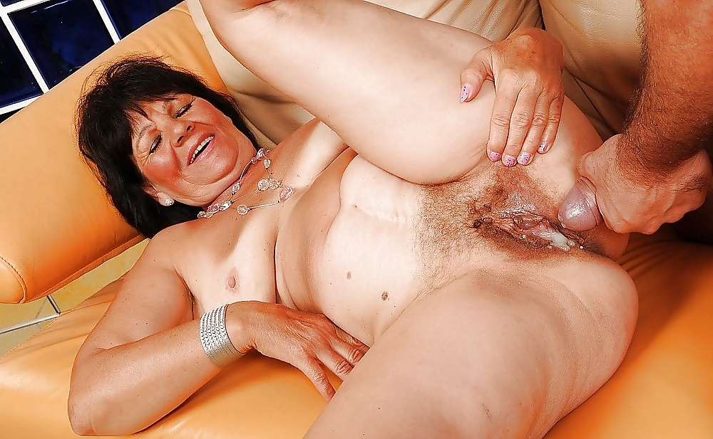 Granny Anal And Boy