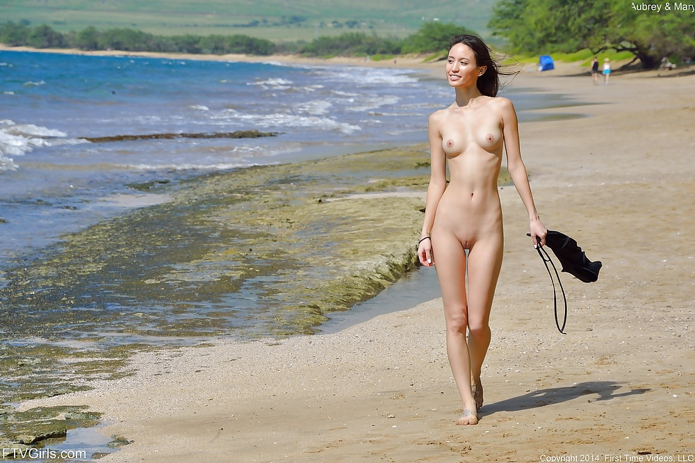 First time young nudist