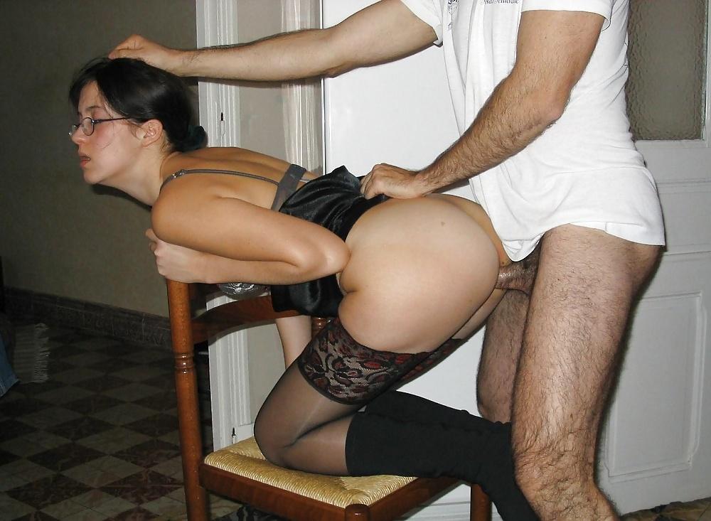 Amature wife stockings homemade fuck