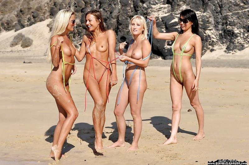 Penetrate pussy bikini sexgall girlfriends