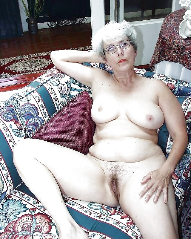 Mature grey hairy pussy outdoor