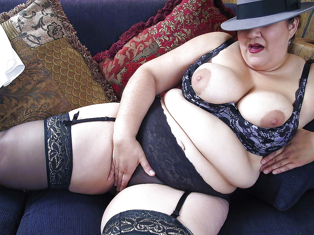 Bbw stocking gallery