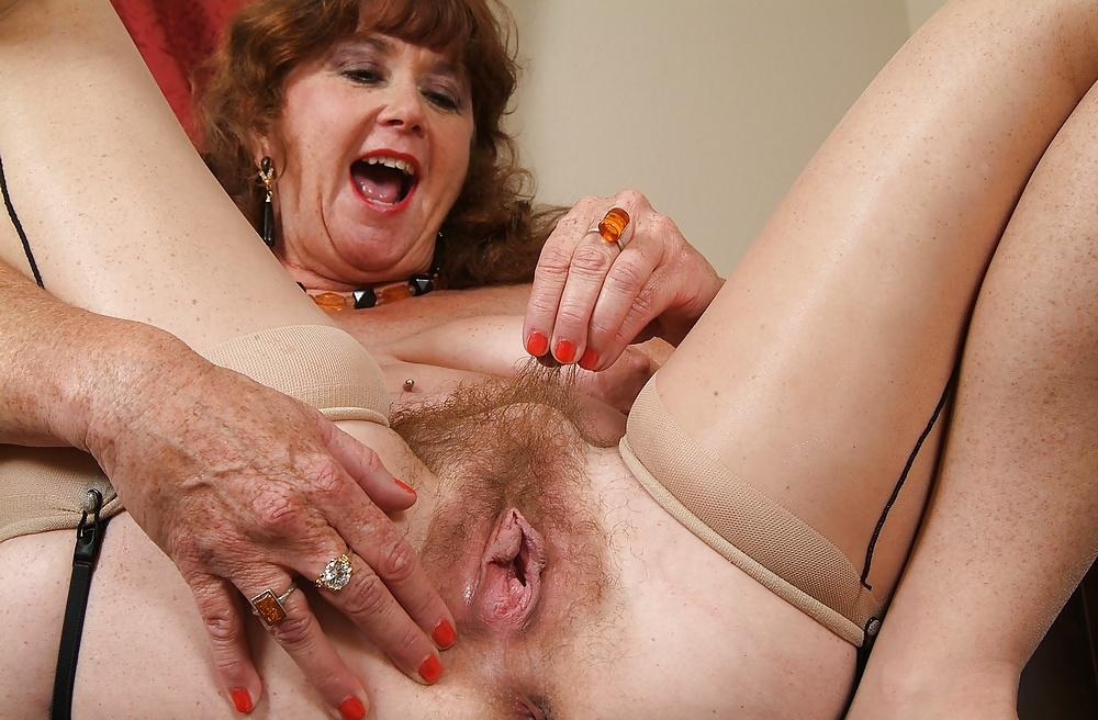 Funny granny stock photo footage