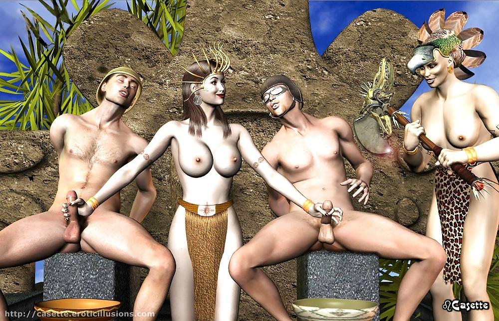 Lesbian castration