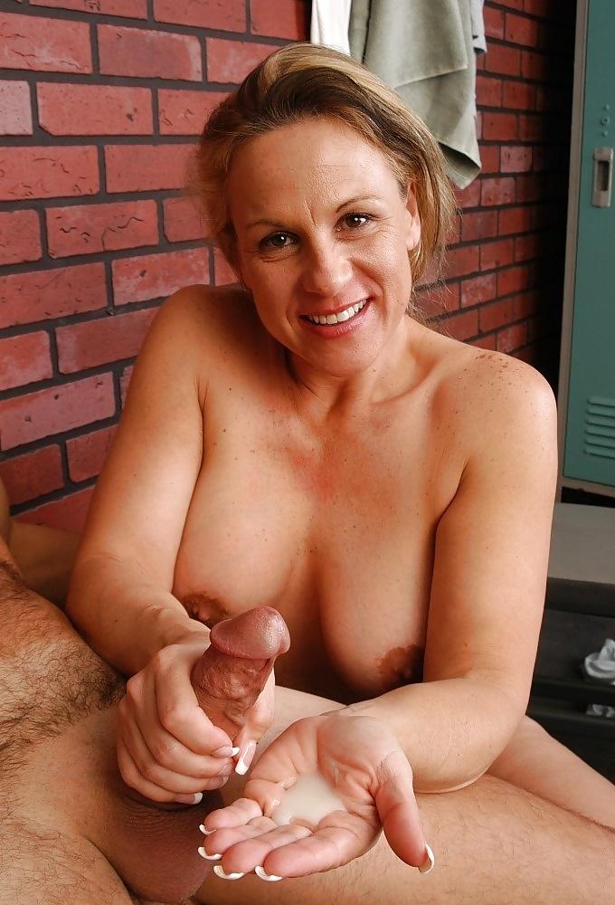 Dame Muschisaft Blonde Ficksahne