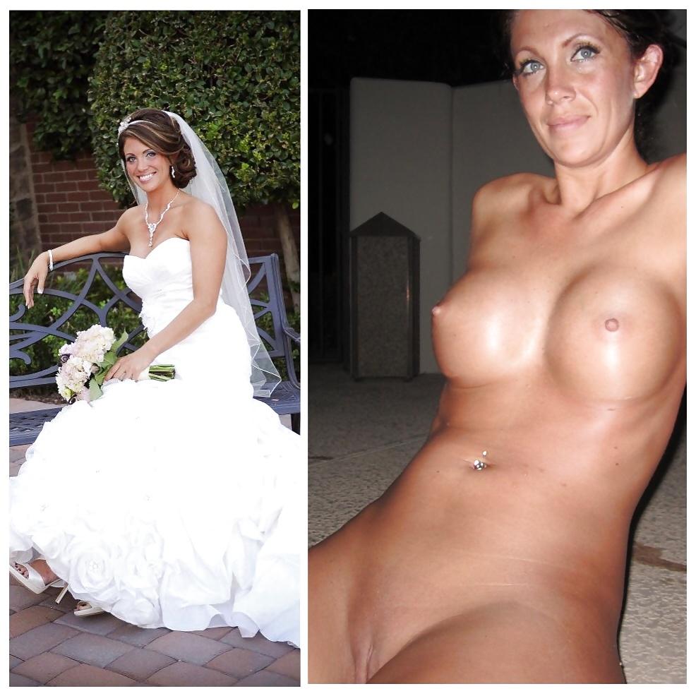 Bride getting dressed tgp