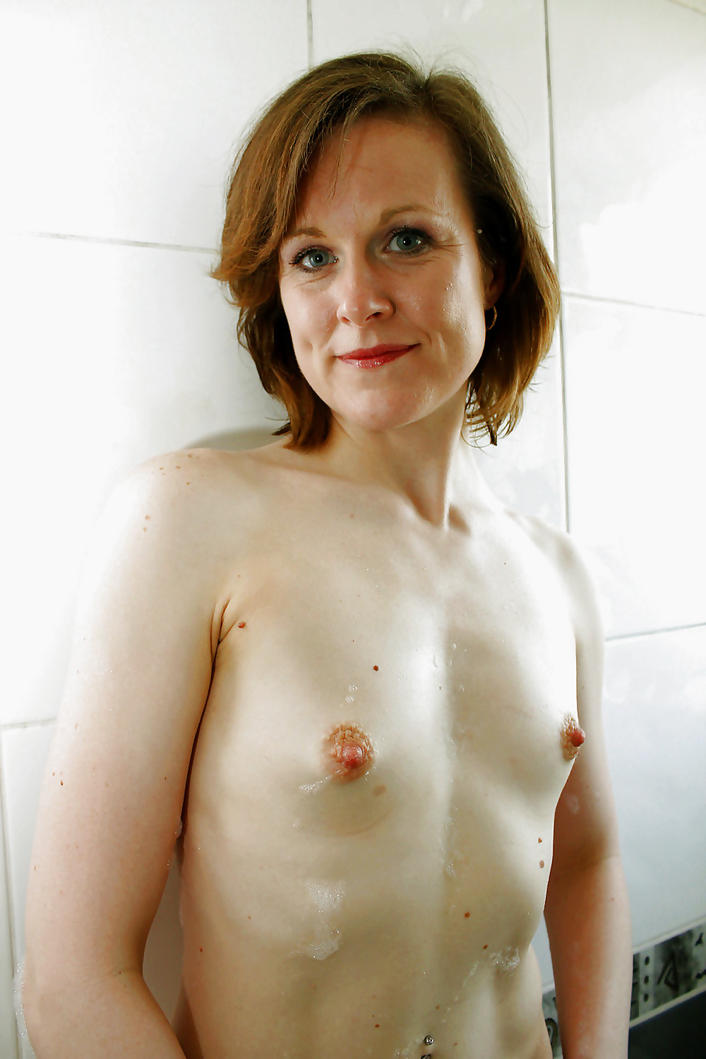 Older Mature Puffy Nipples