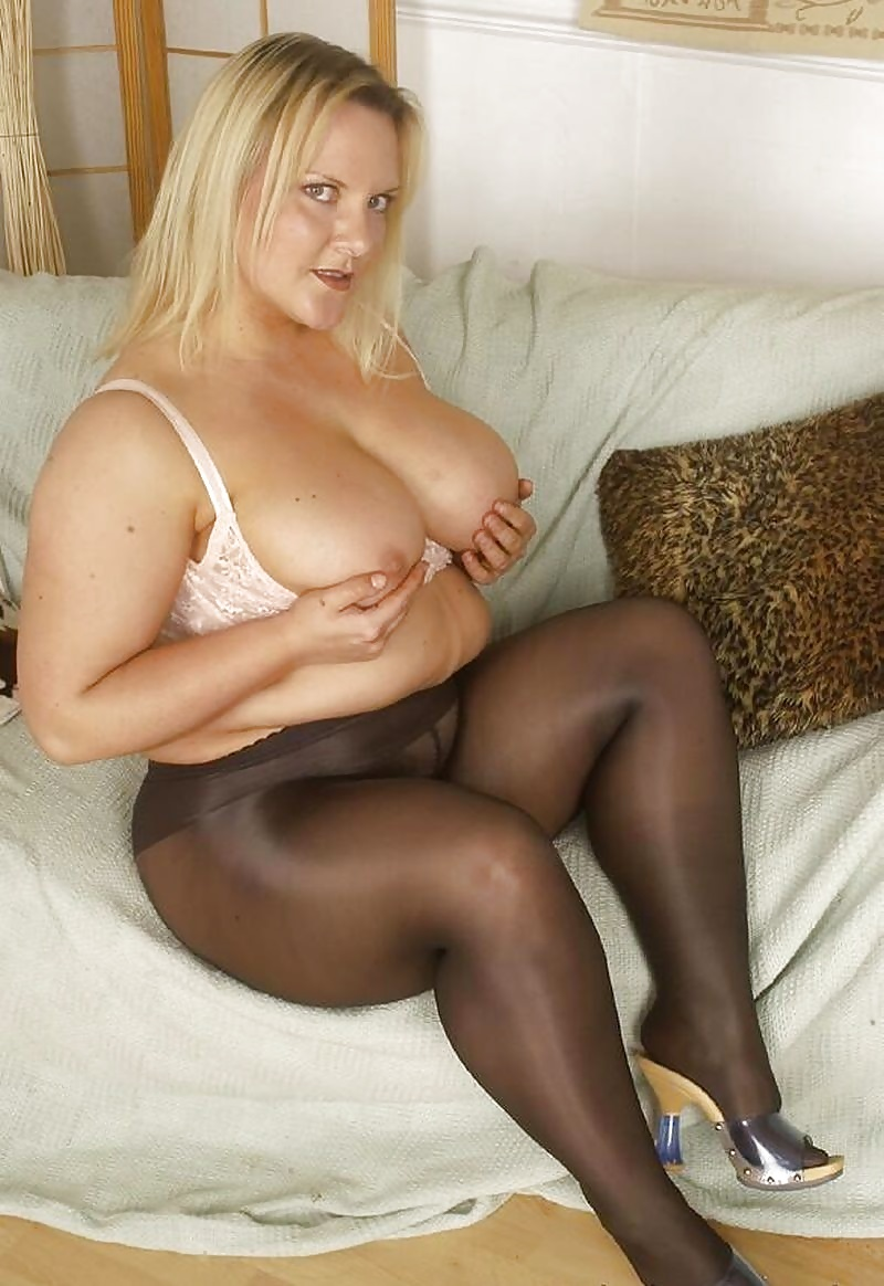 Bbw milf tights