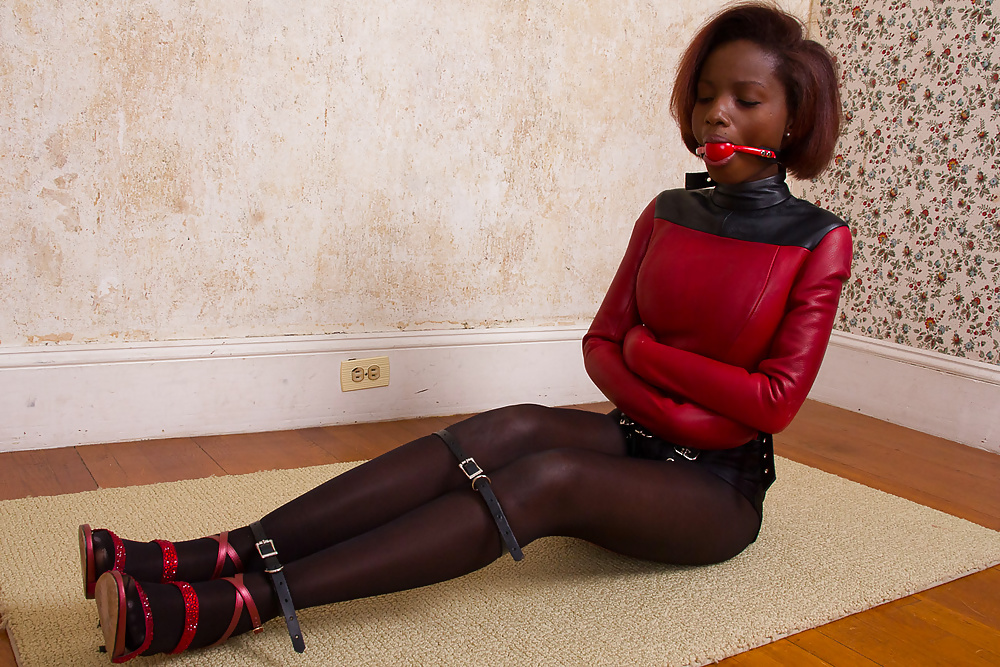 Girl sexy bondage gagged