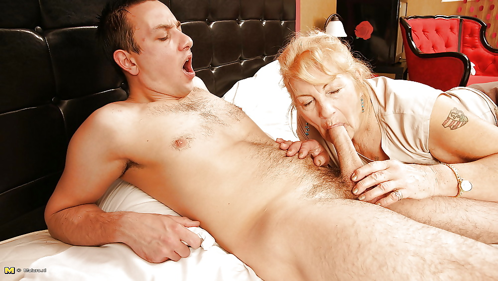 Young Man Likes Older Women