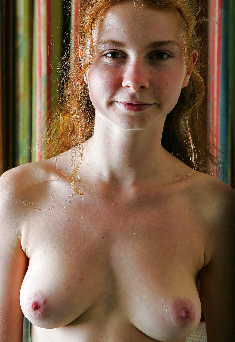 Amateur redhead puffy nipples