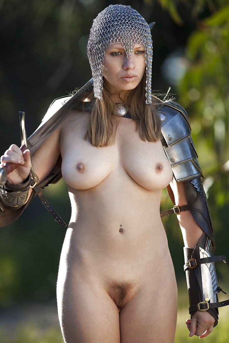 Hot naked fucked warrior girl