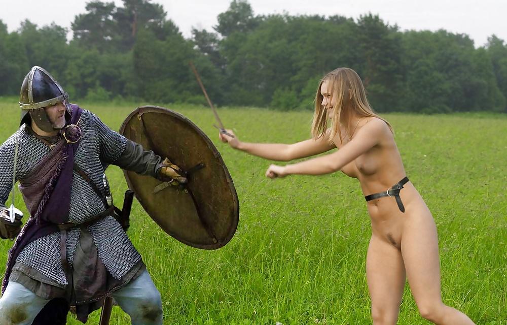 Mature celtic woman naked