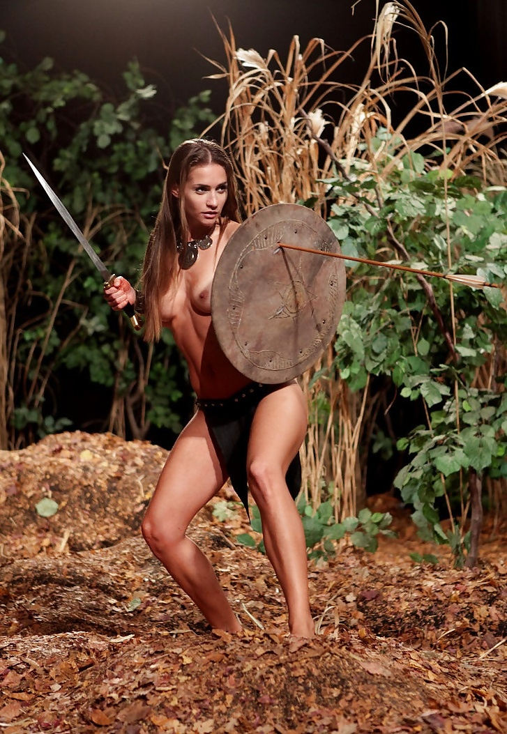 Hangers naked woman loincloth pornstar